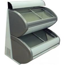 Двухъярусный морозильный ларь для мороженного UDD 420 DDL (канопе)