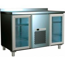 Холодильный шкаф горизонтальный для салатов SL 2GNG ПОЛЮС (1/1,1/3,1/6) (оц)