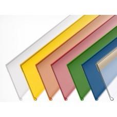 Ценникодержатель пластиковый 1000 (красный, синий, зеленый, желтый, белый, прозрачный)