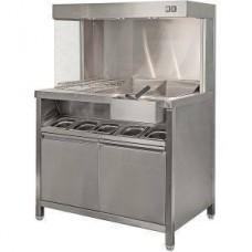 Станция для хранения и фасовки картофеля фри ТТМ STF-100