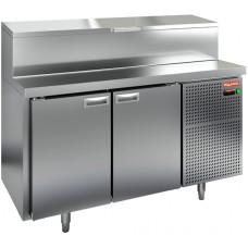 Стол холодильный для пиццы HICOLD PZ2-11/GN (1/6H)