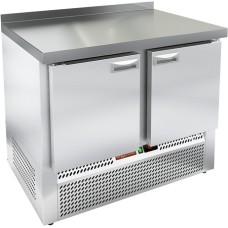 Стол морозильный с полимерным покрытием (RAL 7004) HICOLD GNE 11/BT W