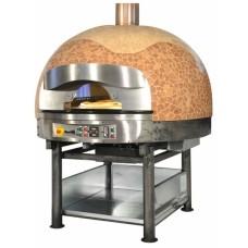 Печь для пиццы MORELLO FORNI ротационная газ FGR130 сUPOLA MOSAIC