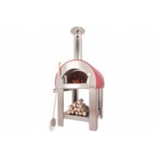 Печь для пиццы ALFAPIZZA на дровах 5 MINUTE оранж