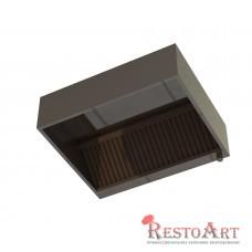 Зонт вытяжной пристенный ЗВП RestoArt 800х800х350