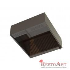 Зонт приточно-вытяжной пристенный ЗПВП RestoArt 800х800х350