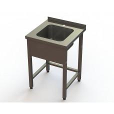 Ванна моечная 1 секционная ВМ4 5/6 RestoArt