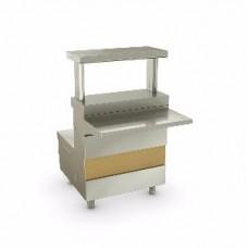 РИВЬЕРА - мармит 1-х блюд 1 конф. (600мм)