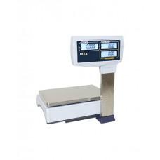 Весы электронные торговые MAS MR1-15P с дисплеем покупателя