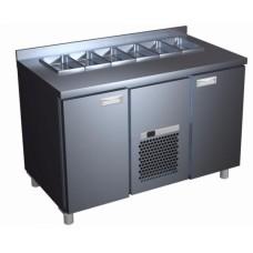 Холодильный шкаф горизонтальный для салатов SL 2GN ПОЛЮС (1/1,1/3,1/6) (оц)