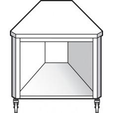 Прилавок угловой EMAINOX EAI 45
