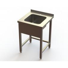 Ванна моечная 1 секционная BM1 RestoArt 600х600х850