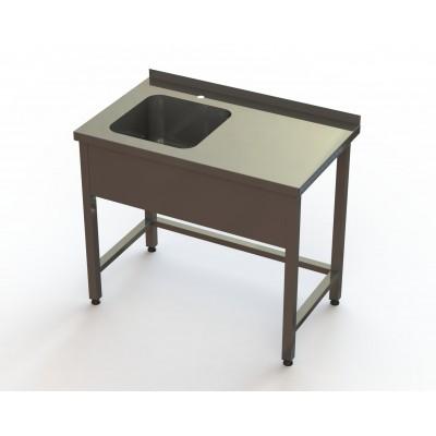 Ванна моечная 1 секционная BM1L RestoArt 1300х600х850