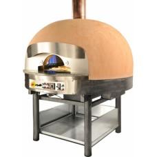 Печь для пиццы MORELLO FORNI ротационная газ FGR110 сUPOLA BASIC