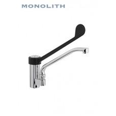Смеситель встраиваемый в ванну моечную локтевой MON-TH 210