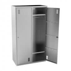 Шкаф для одежды 2-х секционный KOBOR ШК-100/50