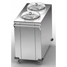 Диспенсер тарелок передвижной OTDN 4478 (на 100 тар)