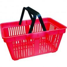 Корзина покупателя CARTENO -PAN-2 пластик красная